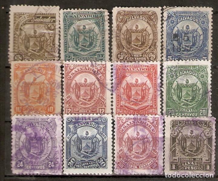 EL SALVADOR.1895. YT 103/14 (Sellos - Extranjero - América - Otros paises)