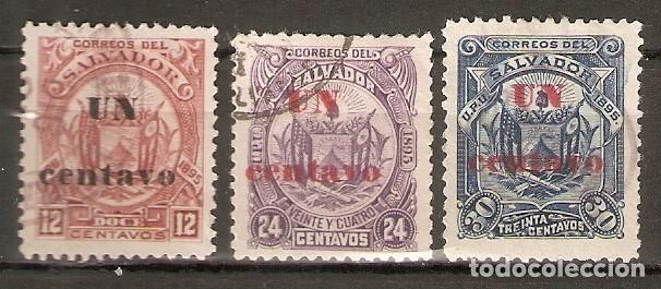 EL SALVADOR.1895. YT 115/117 (Sellos - Extranjero - América - Otros paises)