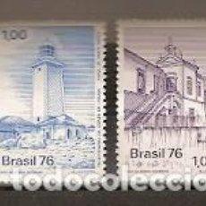 Sellos: BRASIL ** & CENTENARIO DE LA ESCUELA DE MINAS OURO PRETO 1976 (957). Lote 195523238
