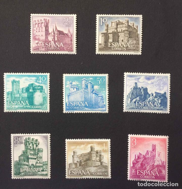 Sellos: Serie 8 sellos: CASTILLOS (España) CONFIL. 1966 ¡Originales! Nuevos. Coleccionista - Foto 2 - 195981687