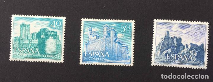 Sellos: Serie 8 sellos: CASTILLOS (España) CONFIL. 1966 ¡Originales! Nuevos. Coleccionista - Foto 4 - 195981687