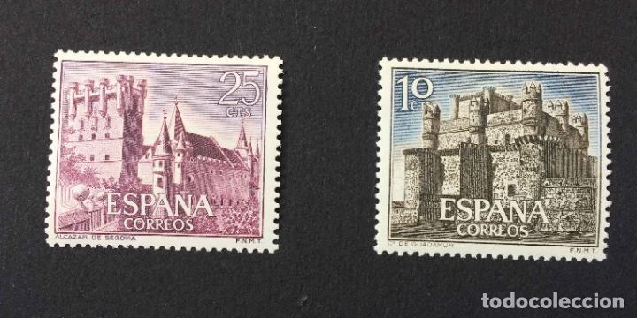 Sellos: Serie 8 sellos: CASTILLOS (España) CONFIL. 1966 ¡Originales! Nuevos. Coleccionista - Foto 5 - 195981687