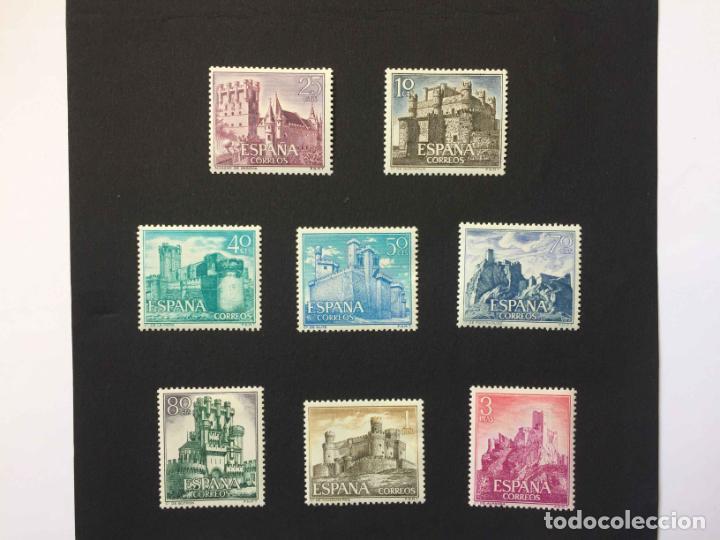Sellos: Serie 8 sellos: CASTILLOS (España) CONFIL. 1966 ¡Originales! Nuevos. Coleccionista - Foto 6 - 195981687