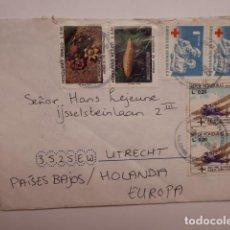 Sellos: CARTA CIRCULADA DE HONDURAS A HOLANDA. Lote 196095231