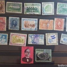 Sellos: LOTE 18 SELLOS DIFERENTES HONDURAS GRAN OPORTUNIDAD OFERTA LIQUIDACION LOTE 28. Lote 196456931