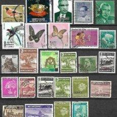 Sellos: LOTE SELLOS DEL MUNDO BLANGADES INDIA SRILANKA. Lote 197985963