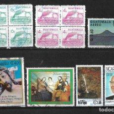 Sellos: GUATEMALA Y NICARAGUA LOTE SELLOS USADOS - 20/19. Lote 199641261