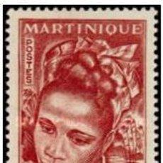 Sellos: SELLO MARTINICA, 1947, NUEVO, NUMERO 243. Lote 202017747