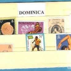 Sellos: LOTE DE SELLOS DE DOMINICA. Lote 203333348