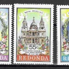 Timbres: REDONDA Nº (**). Lote 203365143