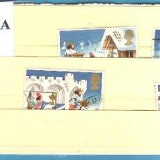 Sellos: LOTE DE SELLOS DE INGLATERRA. NAVIDAD 1993. Lote 203386477