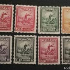 Sellos: HAITÍ, AÉREOS N°35/42 MNH, 1946 (FOTOGRAFÍA REAL). Lote 203935796