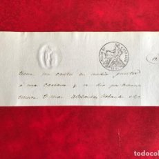 Sellos: ESPAÑA TIMBRE DEL ESTADO SELLO 4º AÑO 1850. Lote 204316360