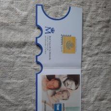 Sellos: TELEVISIÓN ESPAÑA 2000 MATASELLO ESPECIAL SOBRE HOJA BLOQUE EDIFIL 3765. Lote 205293393