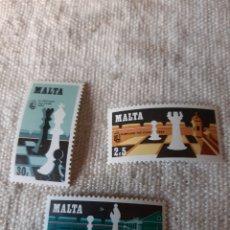 Sellos: MAKTA SERIE NUEVA AJEDREZ. Lote 205403271