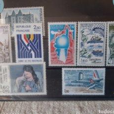Sellos: 1982 FRANCIA SERIES COMPLETAS NUEVAS PICASSO PERSONAJES ARQUITECTURA BARCOS DISEÑO ECT. Lote 206151295