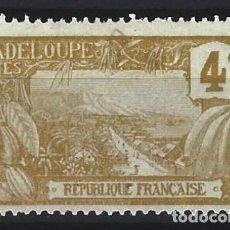 Sellos: GUADALUPE 1905-07 - MONTE HOUELMONT - SELLO USADO. Lote 206383965