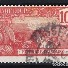 Sellos: GUADALUPE 1905-07 - MONTE HOUELMONT - SELLO USADO. Lote 206384328