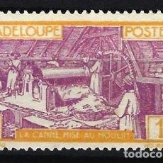 Sellos: GUADALUPE 1928-38 - REFINERÍA DE AZÚCAR - SELLO SIN GOMA. Lote 206384678