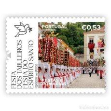 Sellos: PORTUGAL ** & FIESTAS Y PEREGRINACIONES DE PORTUGAL, FIESTAS ESPIRITO SANTO, TOMAR TOMAR 2020 (86429. Lote 206423213