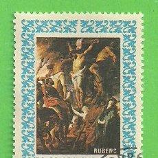 Sellos: PANAMÁ - MICHEL 967 - YVERT 441 - PINTURA RELIGIOSA - PETER PAUL RUBENS. (1967). NUEVO VER.. Lote 206514471
