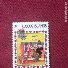 Sellos: ISLAS CAICOS. SELLO NUEVO. DISNEY. Lote 207026272