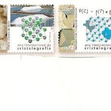 Timbres: PORTUGAL ** & AÑO INTERNACIONAL DE LA CRISTALOGRAFÍA 2014 (7881). Lote 208128082