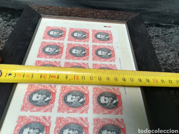 Sellos: Lote de plancha de sellos de Lincoln enmarcada - Foto 6 - 208331232