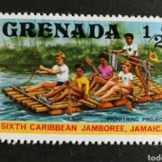 Sellos: GRANADA, CONGRESO DE EXPLORADORES DEL CARIBE 1977 MNH (FOTOGRAFÍA REAL). Lote 208676493