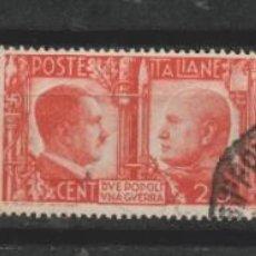 Timbres: LOTE (5) SELLOS 1941 HITLER MUSOLINI. Lote 209232623