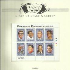 Sellos: EEUU SELLOS GRANDES DE LA MUSICA ROCK- BLUES- REDDING- ELVIS PRESLEY- BUDDY HOLLY- MC PHATTER- HALEY. Lote 212350510