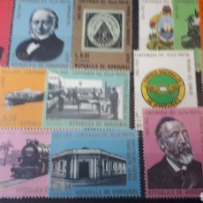 Sellos: SELLOS CON GOMA ORIGINAL DE HONDURAS W006. Lote 214101652