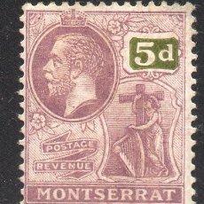 Sellos: MONSERRAT/1922/MH/SC#67/ REY JORDE V / REALEZA. Lote 215504333