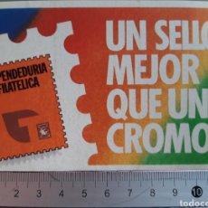 Sellos: PEGATINA AÑO 1985 CAMPAÑA FILATÉLICA DE TABACALERA ESPAÑOLA.. Lote 216361797
