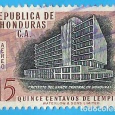 Sellos: HONDURAS. 1956. BANCO CENTRAL. Lote 218688490
