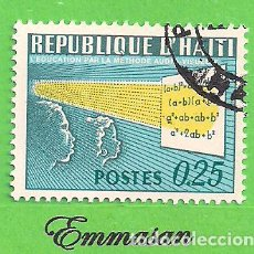 Sellos: HAITI - MICHEL 927 - YVERT 590 - EDUCACIÓN. (1967).. Lote 218825547