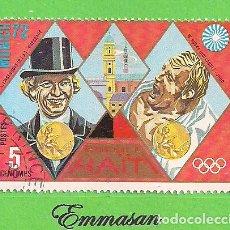 Sellos: HAITI - MICHEL 1205 - YVERT 713 - JUEGOS OLÍMPICOS DE MUNICH. (1972).. Lote 218826133