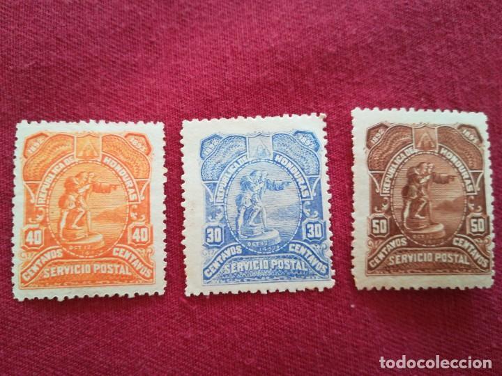 SELLOS HONDURAS 1893 (Sellos - Extranjero - América - Otros paises)