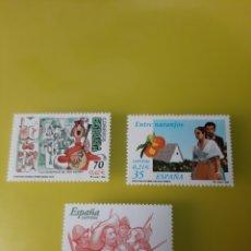 Sellos: ESPAÑA LITERATURA AÑO 2000 EDIFIL 3772/3774 NUEVA O USADA. Lote 221681337