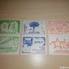 Sellos: LOTE SELLOS 50A JUBILEA HISPANA KONGRESO DE ESPERANTO, 1990. Lote 221783841
