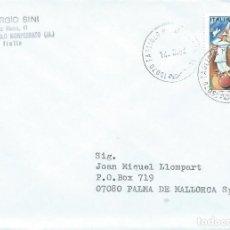 Sellos: 1994. ITALIA/ITALY. SOBRE CIRCULADO. CIRCO. CIRCUS.. Lote 221864242
