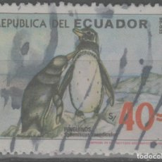Sellos: LOTE (2) SELLO ECUADOR FAUNA. Lote 221944266