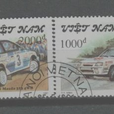 Francobolli: LOTE (12) SELLO COCHES RALLY. Lote 222067671
