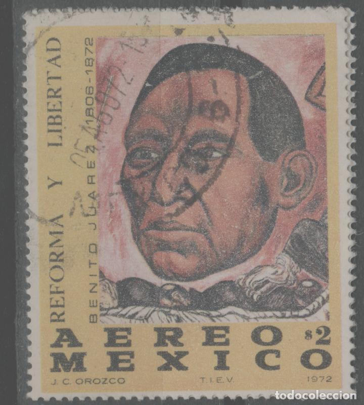 LOTE (12) SELLO MEXICO GRAN TAMAÑO (Sellos - Extranjero - América - Otros paises)