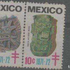 Sellos: LOTE (12) SELLOS MEXICO. Lote 222073668