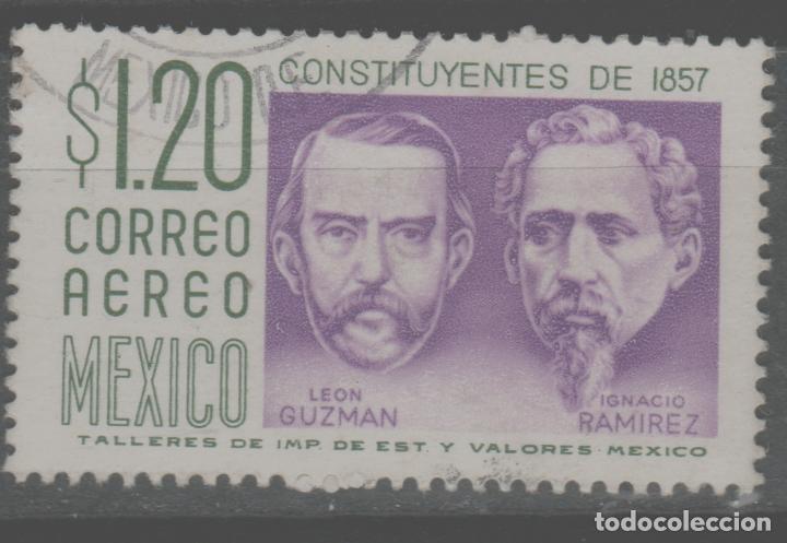 LOTE (12) SELLO MEXICO (Sellos - Extranjero - América - Otros paises)