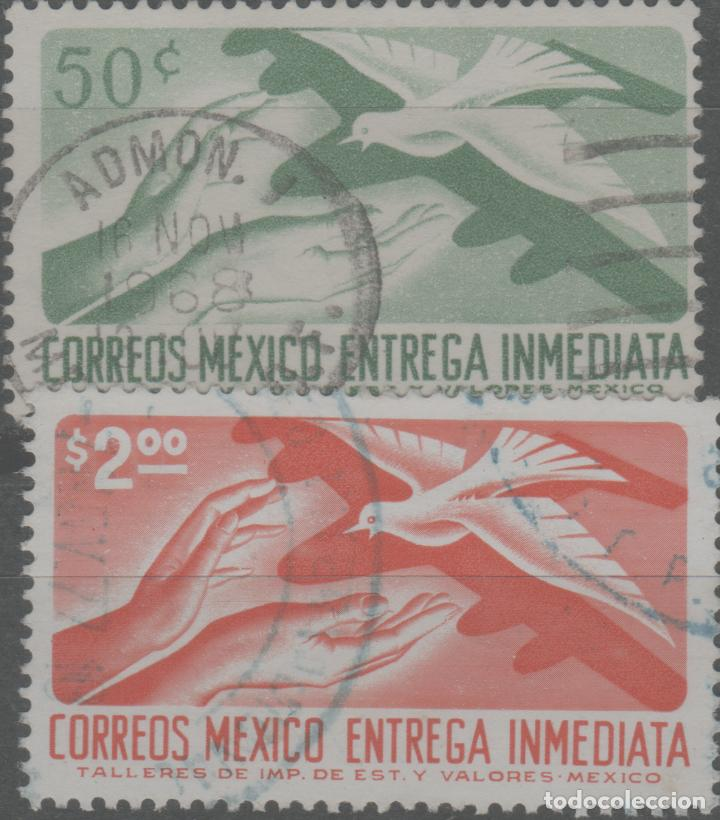 LOTE (12) SELLOS MEXICO (Sellos - Extranjero - América - Otros paises)