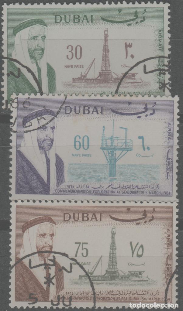 LOTE (12) SELLOS DUBAI (Sellos - Extranjero - América - Otros paises)