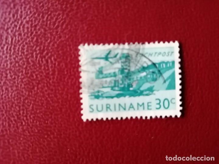 SURINAME - SURINAM - GUAYANA NEERLANDESA - VALOR FACIAL 30 C - INDUSTRIA (Sellos - Extranjero - América - Otros paises)