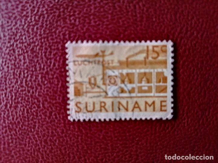 SURINAME - SURINAM - GUAYANA NEERLANDESA - VALOR FACIAL 15 C - AVIÓN (Sellos - Extranjero - América - Otros paises)